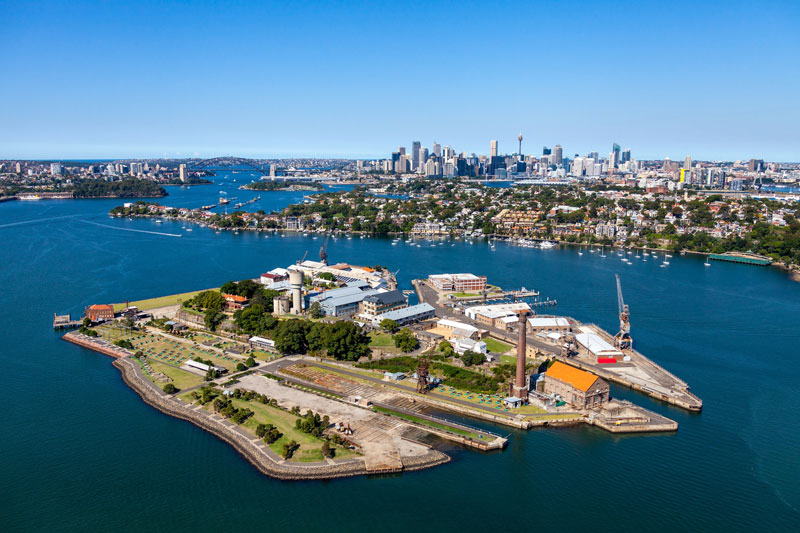 HT-MM Cockatoo Island aerial 800