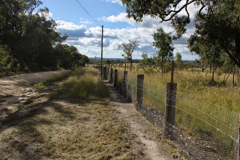 SD W Rabbit Fence near Dalveen Queensland 800