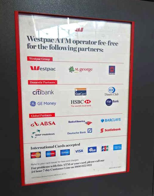 Banking Und Finanzen Auf Einer Australienreise