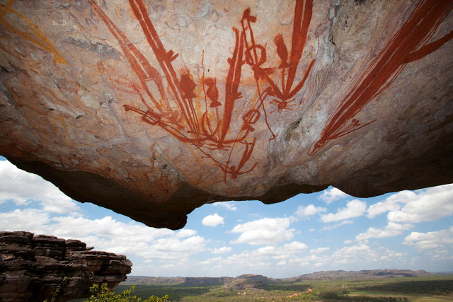 VN Injalak Hill Arnhem Land Rock Art 640