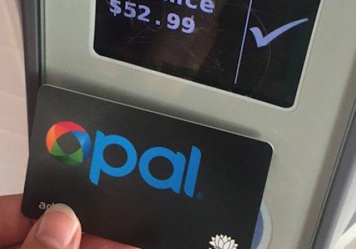 Mit Opal-Karte durch Sydney