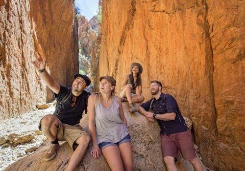 Larapinta Trek: Wandertour durch das rote Zentrum
