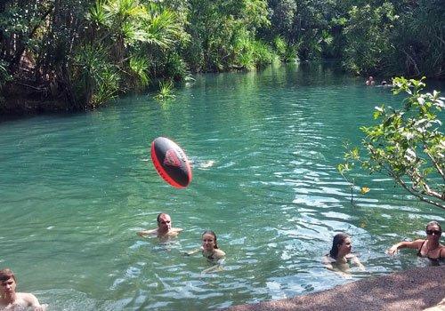Schwimmen in Billabongs, Seen & Flüssen