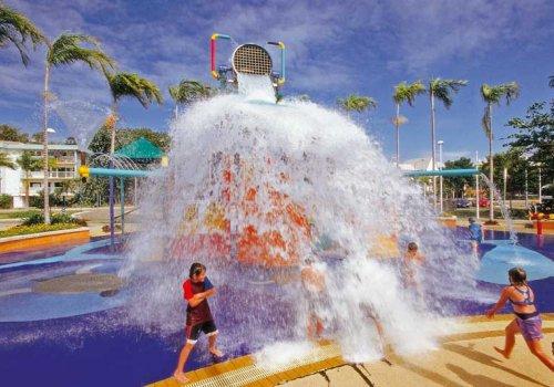 Kostenloser Badespaß in Queensland