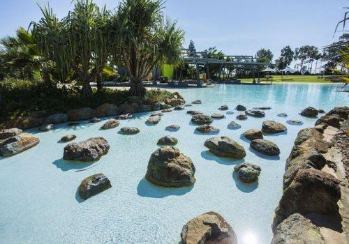 Die Lagune von Mackay
