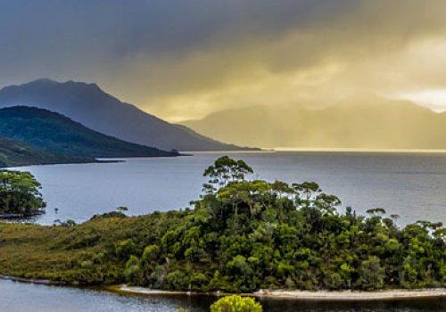 Über die Gordon River Road nach Hobart