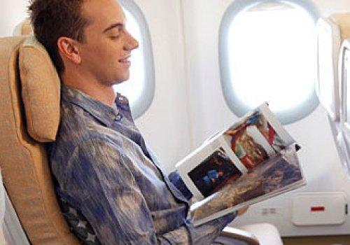 Das Reise-Outfit im Flugzeug