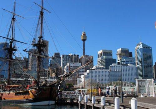 Sprachschule in Sydney / Darling Harbour
