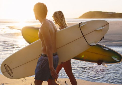 6-15 Tage Surf Adventure Kurse ab Brisbane / Byron Bay