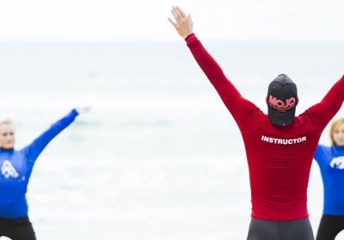 Die Ausbildung zum Surf-Instructor im Test