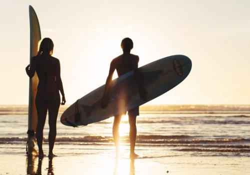 1-2 Monate Intensiv Surfkurse