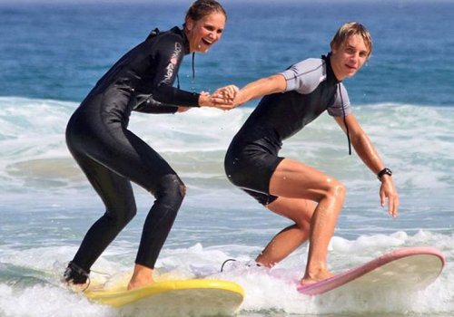 1+2 Tage Surf Camp (mit Transfer aus Sydney)