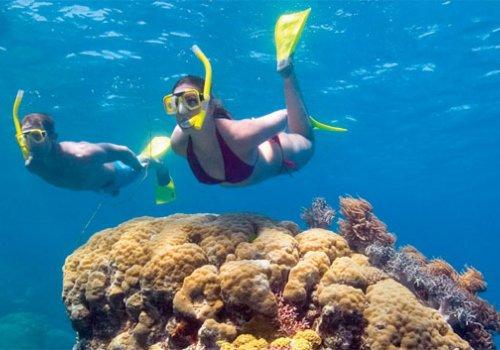 Schwimmen im Meer in Australien