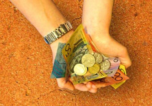 Reisekasse & australische Banken
