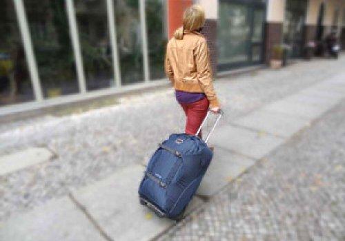 Rucksack oder Rollkoffer?