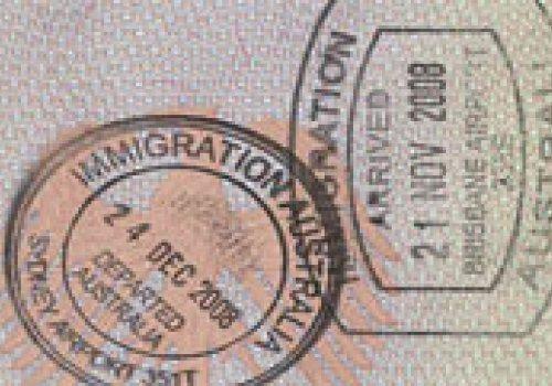 Touristenvisum für Australien  (3 Monate)