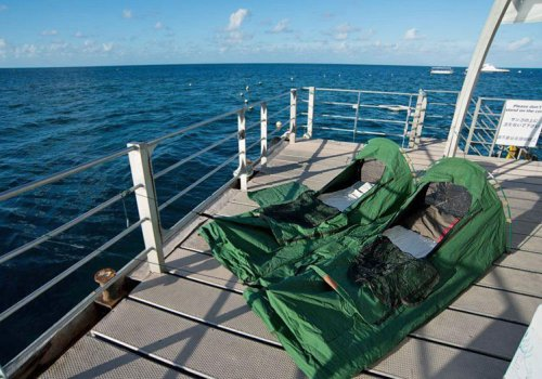 Im Schlafsack auf dem Riff (ab Cairns)