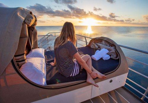 Übernachten auf dem Riff
