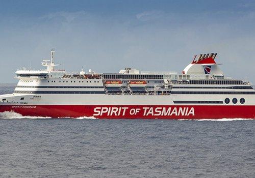 Die Fähre nach Tasmanien