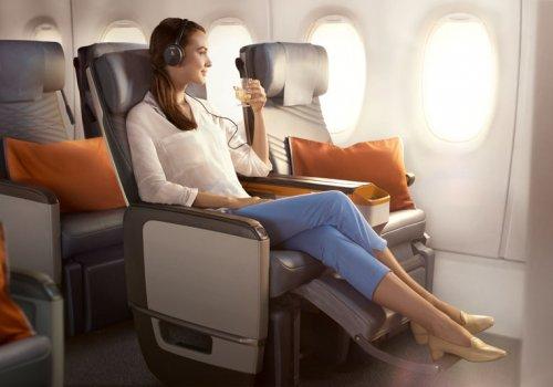 Premium Economy mit Singapore Airlines