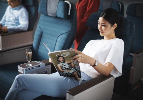 Premium Economy mit Cathay Pacific