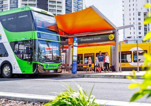 Öffentlicher Nahverkehr an der Gold Coast