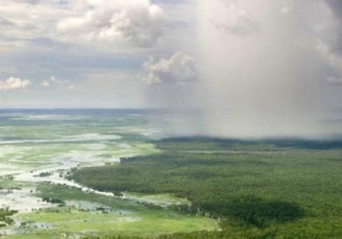 Regenzeit in Australien